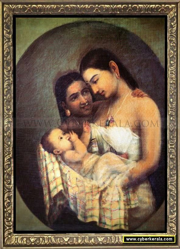 Collections Of Raja Ravi Varma Paintings